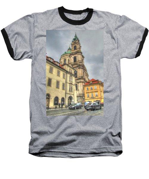 Praha Chehia Baseball T-Shirt by Yury Bashkin