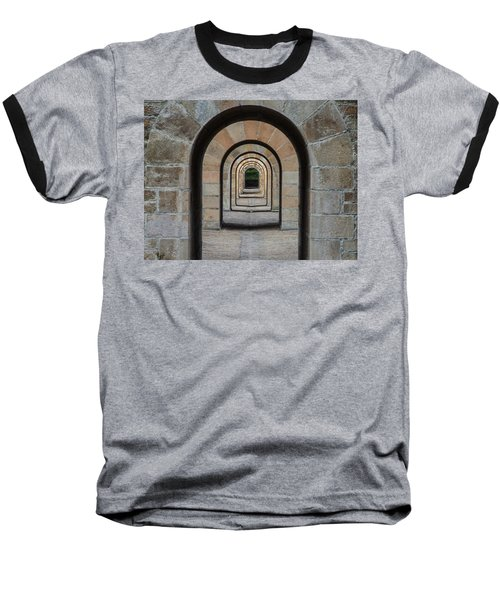 Receding Arches Baseball T-Shirt