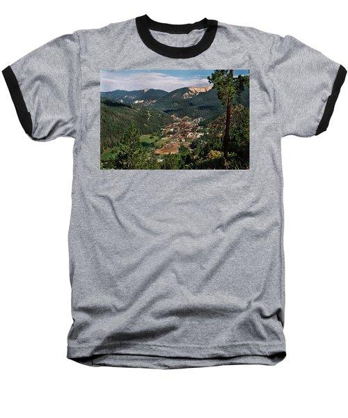 Red River At Sunrise Baseball T-Shirt