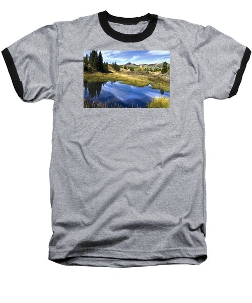 Baseball T-Shirt featuring the photograph  Road To Steamboat Lake by John Hix