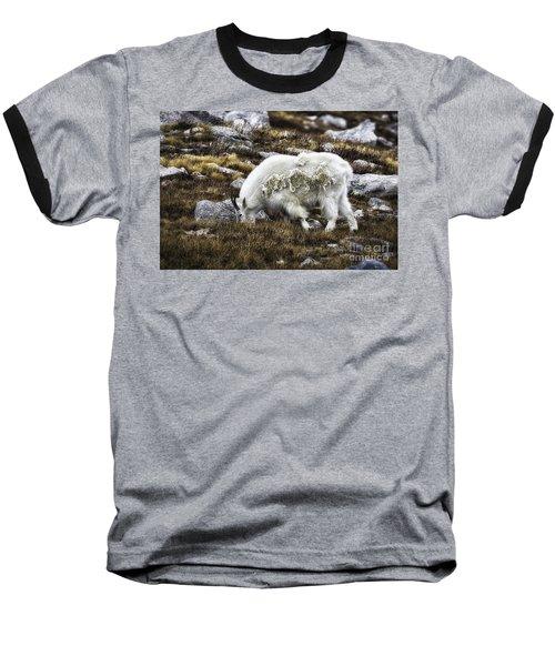 Rocky Mountain Goat Baseball T-Shirt