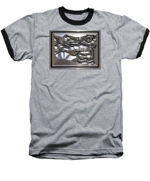 ' Light Rays Through Dark Passages ' Baseball T-Shirt