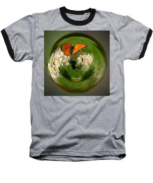 Baseball T-Shirt featuring the photograph  Scarce Copper 3 by Jouko Lehto