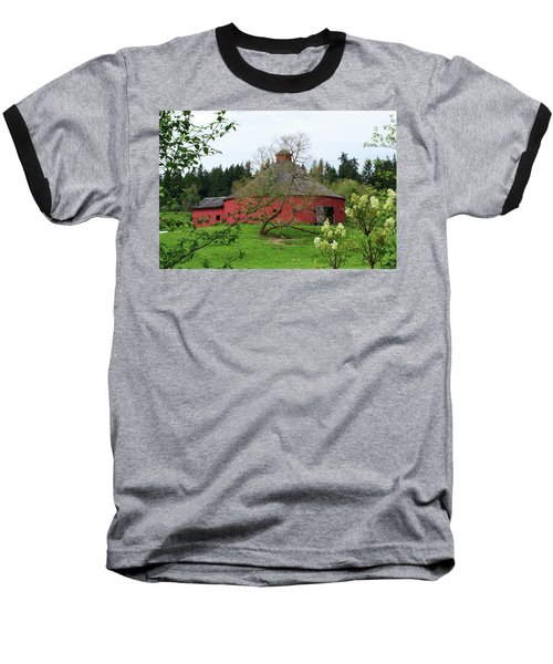 Spring At The Round Barn Baseball T-Shirt