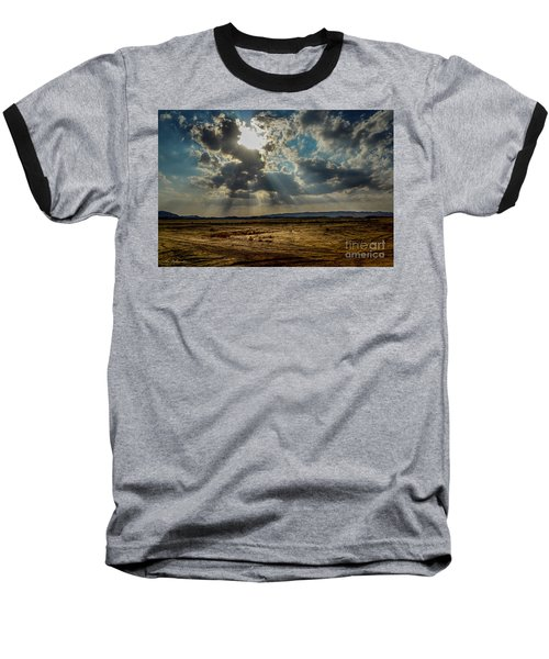 Stormy  Light Rays  Baseball T-Shirt