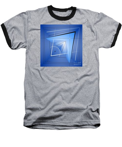 Structural Limitations Of Thought Baseball T-Shirt by Leo Symon