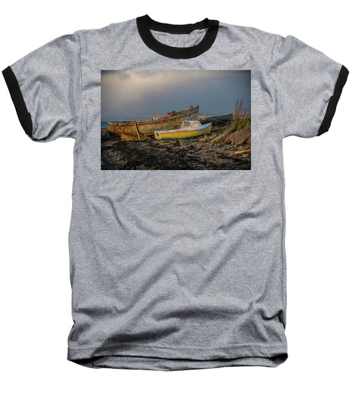 Sunset In The Highlands Baseball T-Shirt