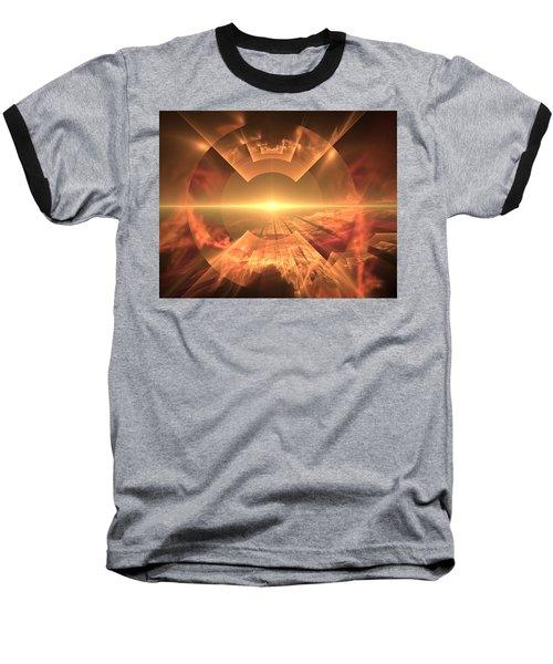 Supernova  Baseball T-Shirt