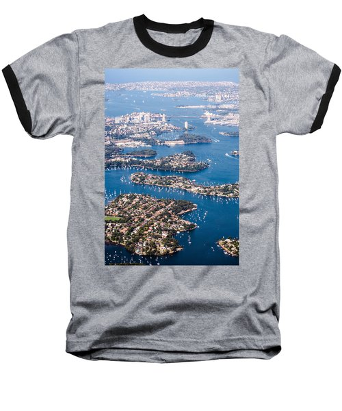 Sydney Vibes Baseball T-Shirt by Parker Cunningham