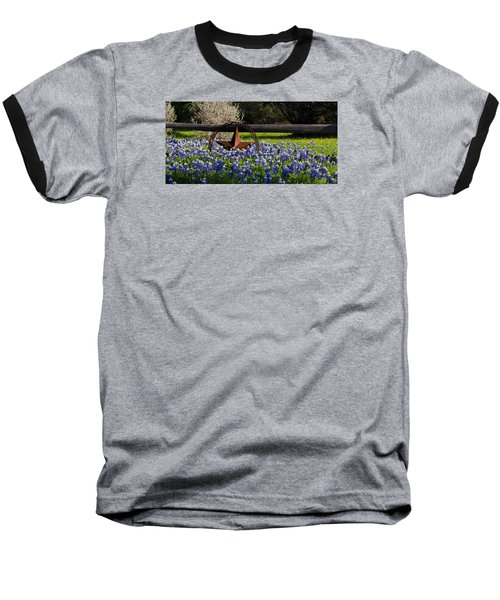 Texas Bluebonnets IIi Baseball T-Shirt