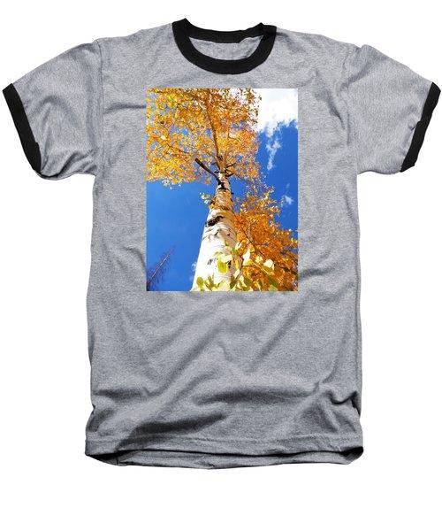 The Aspen Crown Dixie National Forest Utah Baseball T-Shirt by Deborah Moen
