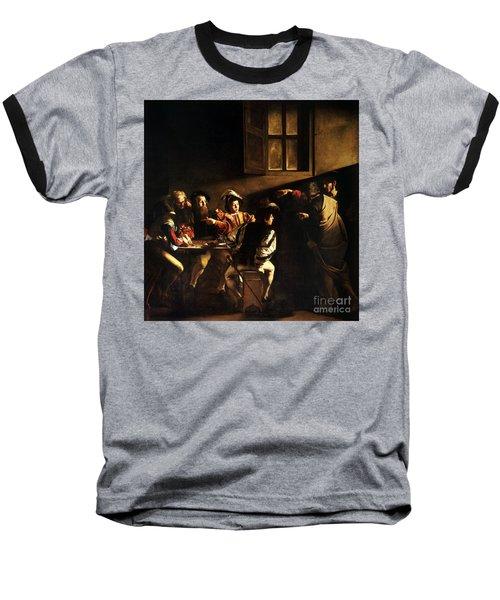 The Calling Of Saint Matthew Baseball T-Shirt