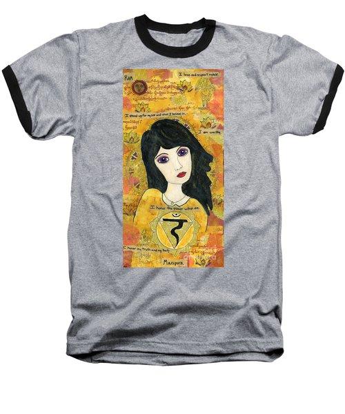 Third Chakra Baseball T-Shirt