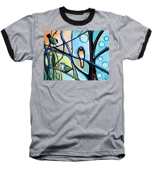 Three Birds Baseball T-Shirt