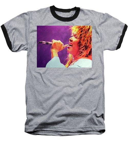 Tina Turner Baseball T-Shirt