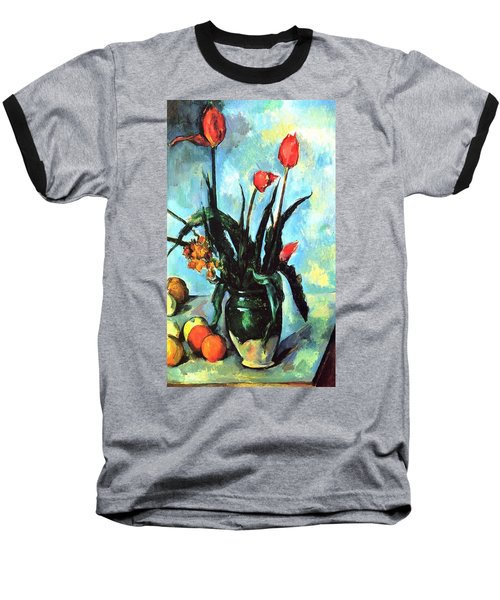 Tulips In A Vase Baseball T-Shirt