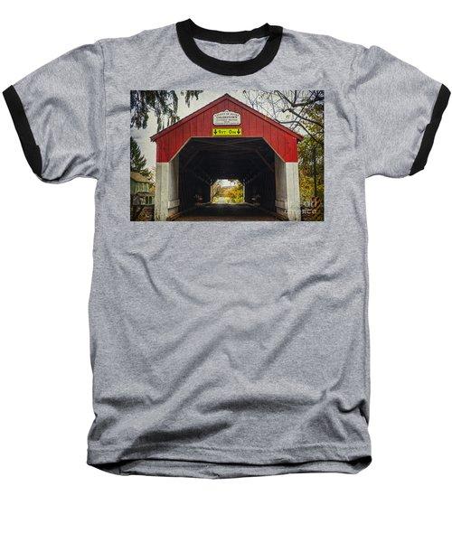 Uhlerstown Covered Bridge Iv Baseball T-Shirt