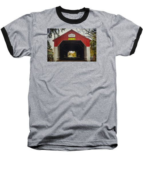 Uhlerstown Covered Bridge Iv Baseball T-Shirt