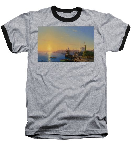 View Of Constantinople And The Bosphorus Baseball T-Shirt