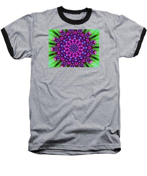 Wild Purple And Green Baseball T-Shirt