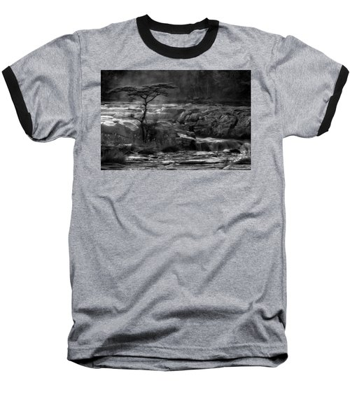 Baseball T-Shirt featuring the photograph  Wood by Hayato Matsumoto