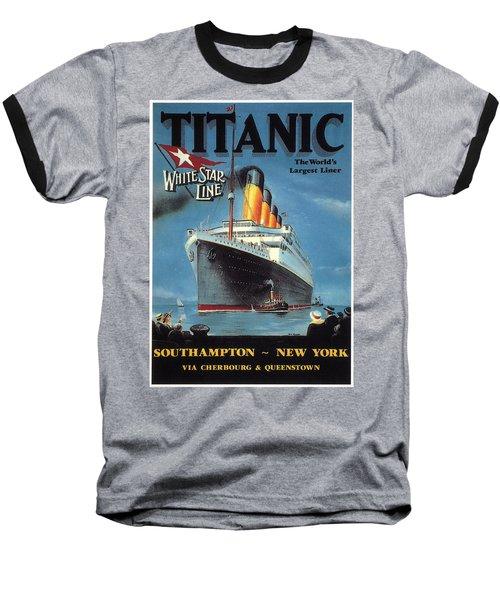 0065186 Baseball T-Shirt by Titanic