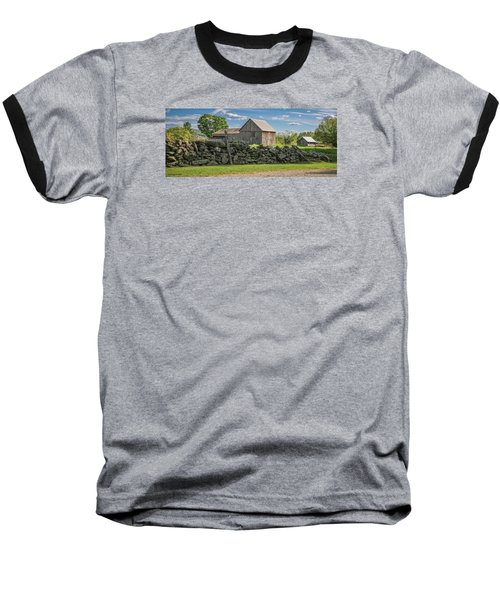 #0079 - Robert's Barn, New Hampshire Baseball T-Shirt