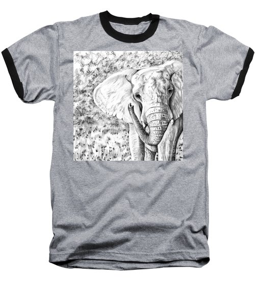 01 Of 30 Elephant Baseball T-Shirt