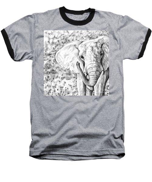 01 Of 30 Elephant Baseball T-Shirt