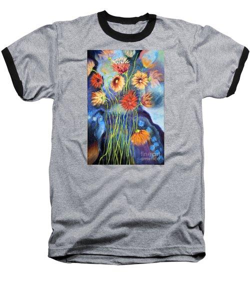 01314 African Daisies Baseball T-Shirt
