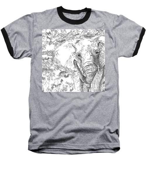 02 Of 30 Elephant Baseball T-Shirt
