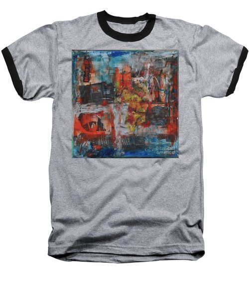 027 Abstract Thought Baseball T-Shirt