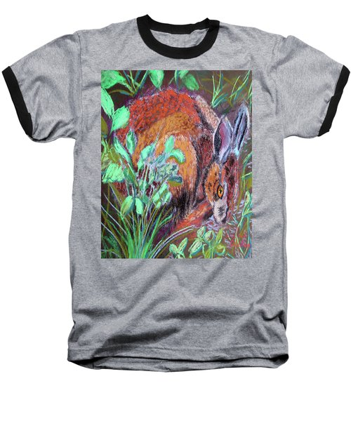 032917louisiana Swamp Rabbit Baseball T-Shirt