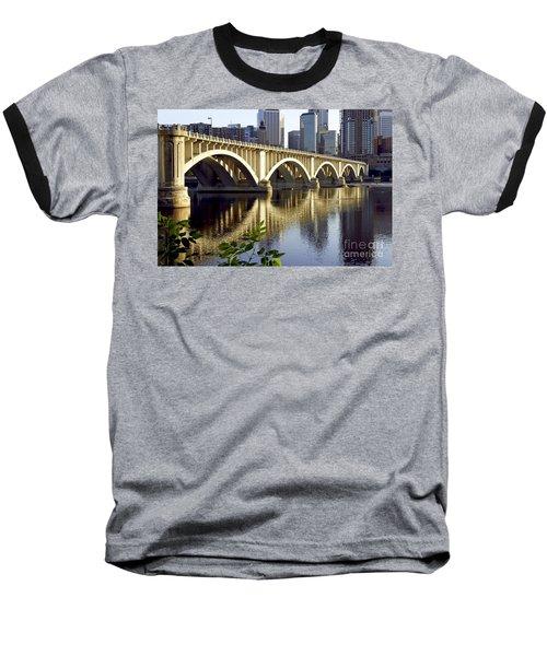 0333 3rd Avenue Bridge Minneapolis Baseball T-Shirt