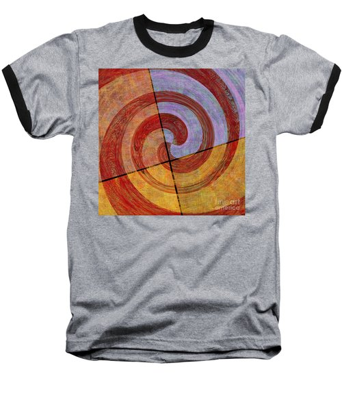 0581 Abstract Thought Baseball T-Shirt