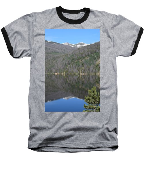 Chambers Lake Reflection Hwy 14 Co Baseball T-Shirt