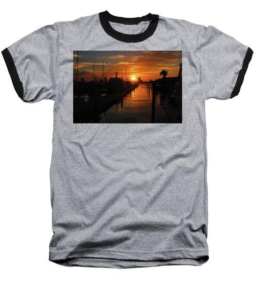 Baseball T-Shirt featuring the digital art 1 by Joseph Keane