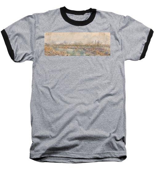 10879 Clearwater Marina Baseball T-Shirt