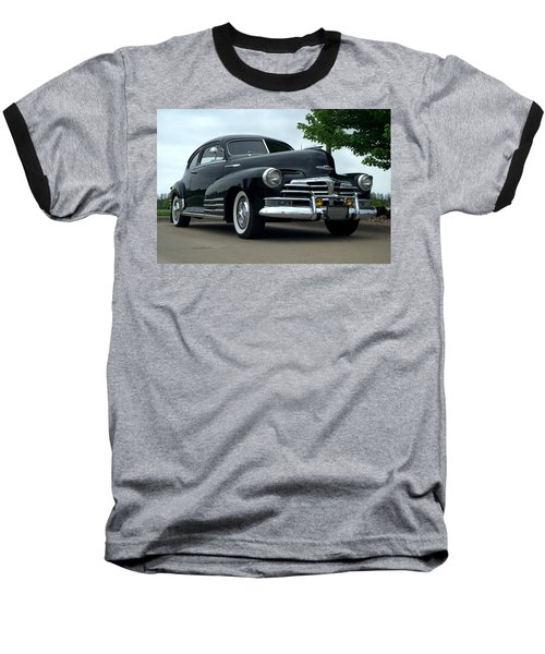 1948 Chevrolet Fleetline Custom Baseball T-Shirt