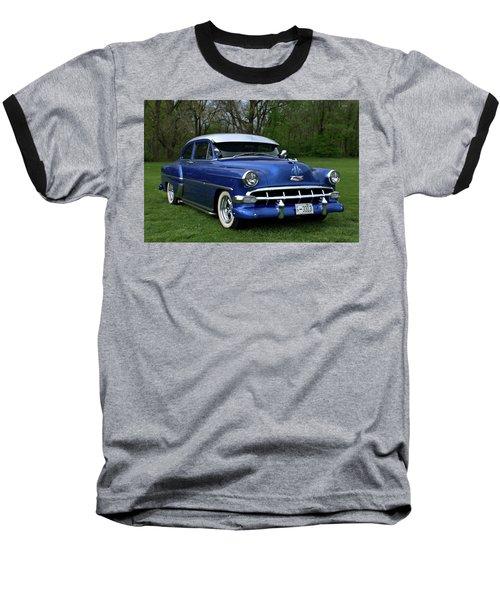 1954 Chevrolet Street Rod Baseball T-Shirt by Tim McCullough