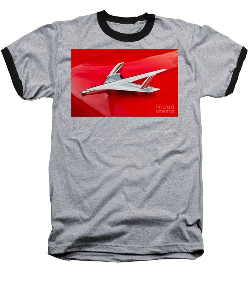 1955 Chevrolet Hood Ornament Baseball T-Shirt
