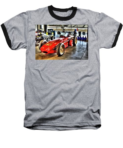 1961 Elder Indy Racing Special Baseball T-Shirt