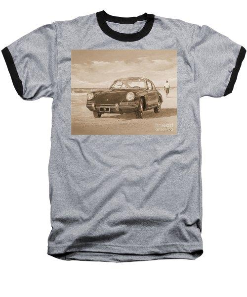 1967 Porsche 912 In Sepia Baseball T-Shirt