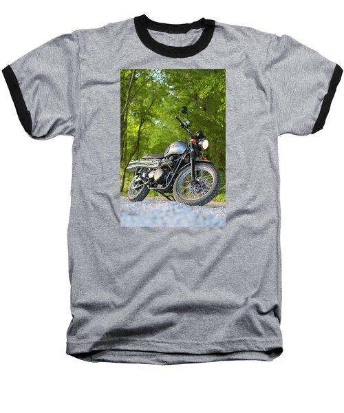 2013 Triumph Scrambler Baseball T-Shirt