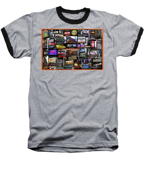 2016 Broadway Fall Collage Baseball T-Shirt