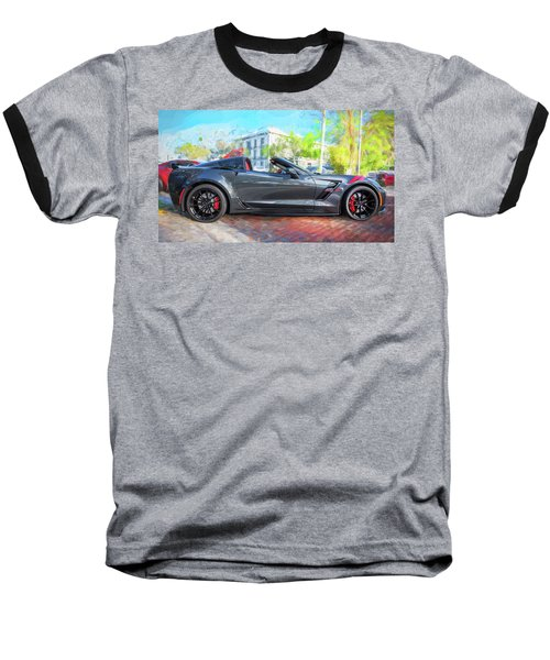 2017 Chevrolet Corvette Gran Sport  Baseball T-Shirt by Rich Franco