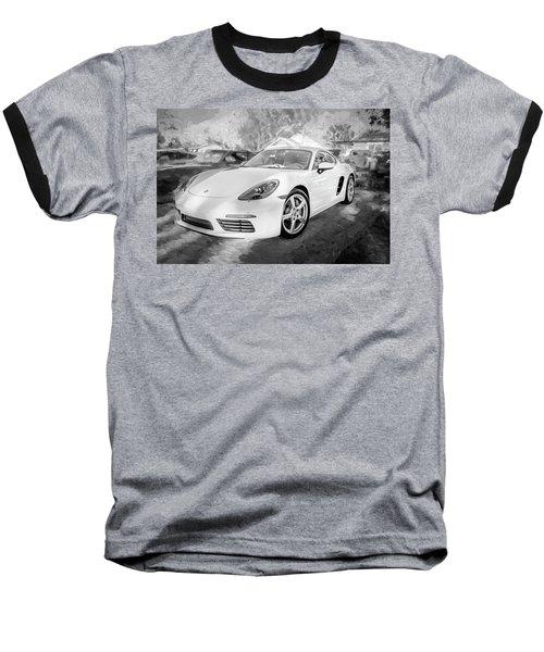 2017 Porsche Cayman 718 S  Bw    Baseball T-Shirt