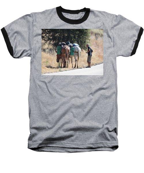 3 Mules Baseball T-Shirt
