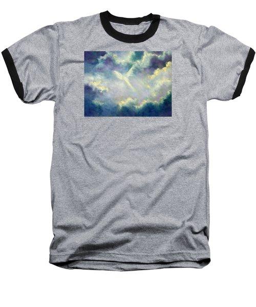A Gift From Heaven Baseball T-Shirt by Marina Petro