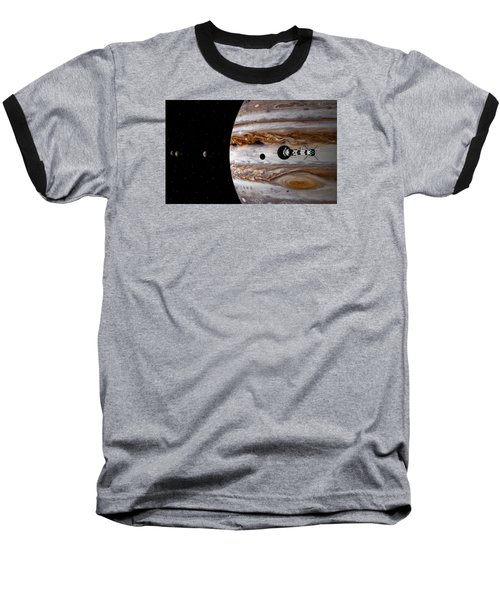 Baseball T-Shirt featuring the digital art A Sense Of Scale by David Robinson